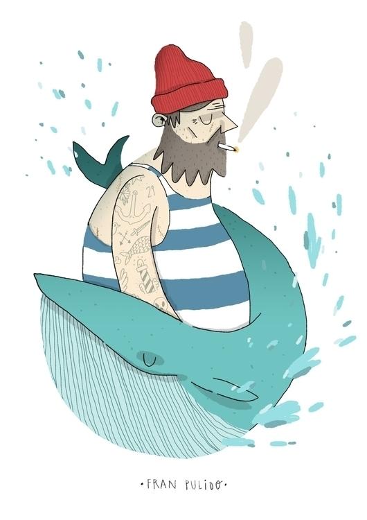 Sailor - sailor, boat, trip, wallet - franpulido | ello