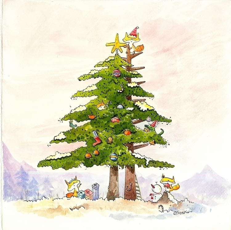 Christmas Tree good gift perfec - suhulittle | ello