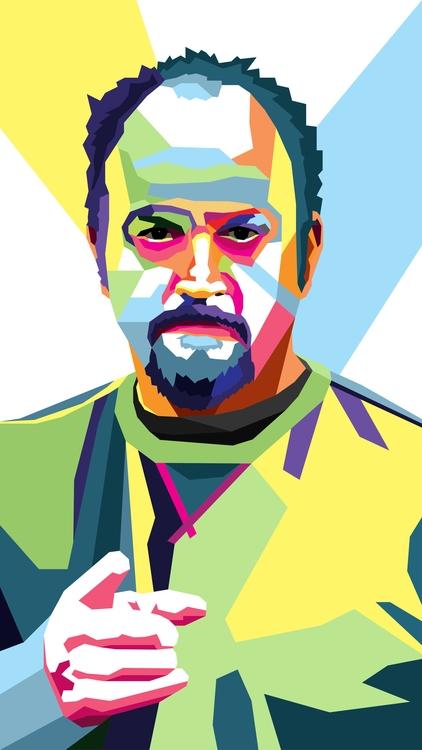 Louie CK WPAP Style - LouieCK, illustrator - andrewprefontaine | ello