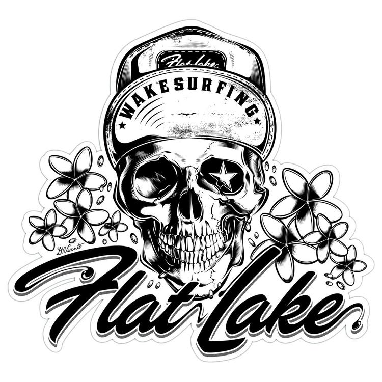 Design Flat Lake Wakesurfing -  - dvicente777 | ello