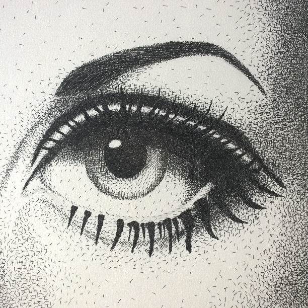 Twiggy eye - drawing - natashahoshino | ello