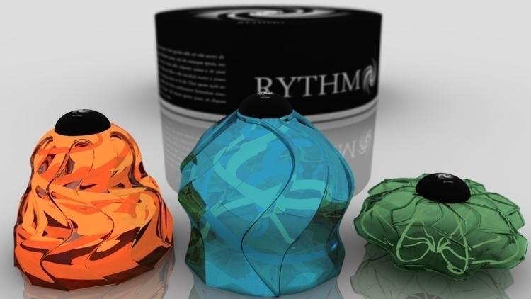 3D, modeling, perfume, vray, maya - artcyan | ello