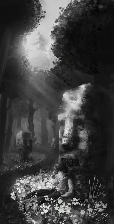 illustration, painting, environment - yanivcahoua | ello