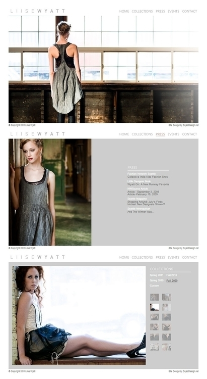 website, webdesign, web - katiecalaway | ello