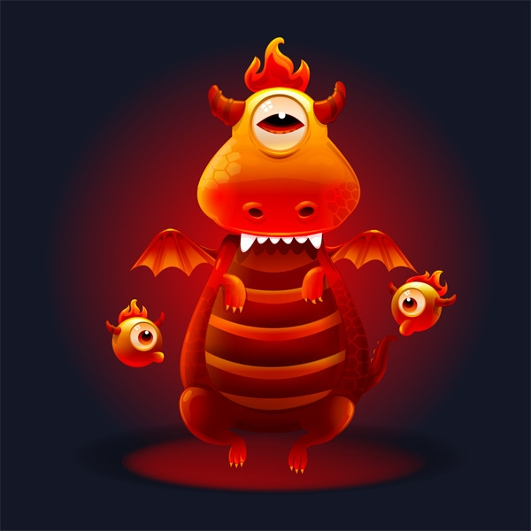 Dragon - dragon, monster - estince   ello