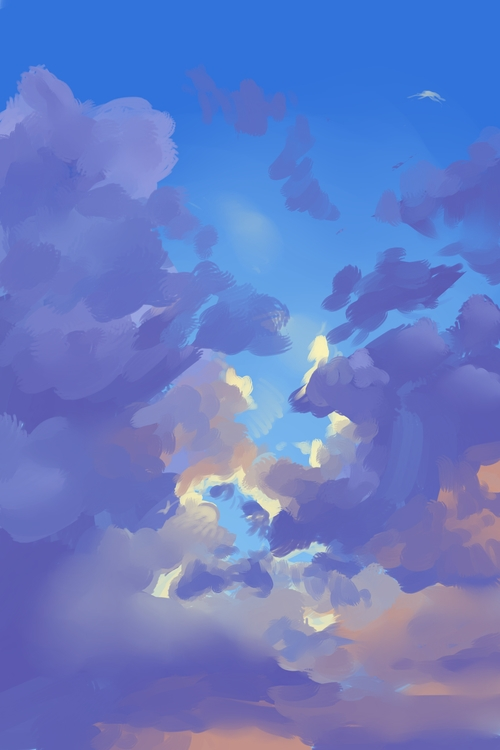 Speed Paint 3 Storm - clouds, painttoolsai - scookart | ello