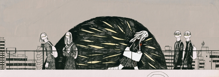 page works - illustration, pen - mioim | ello