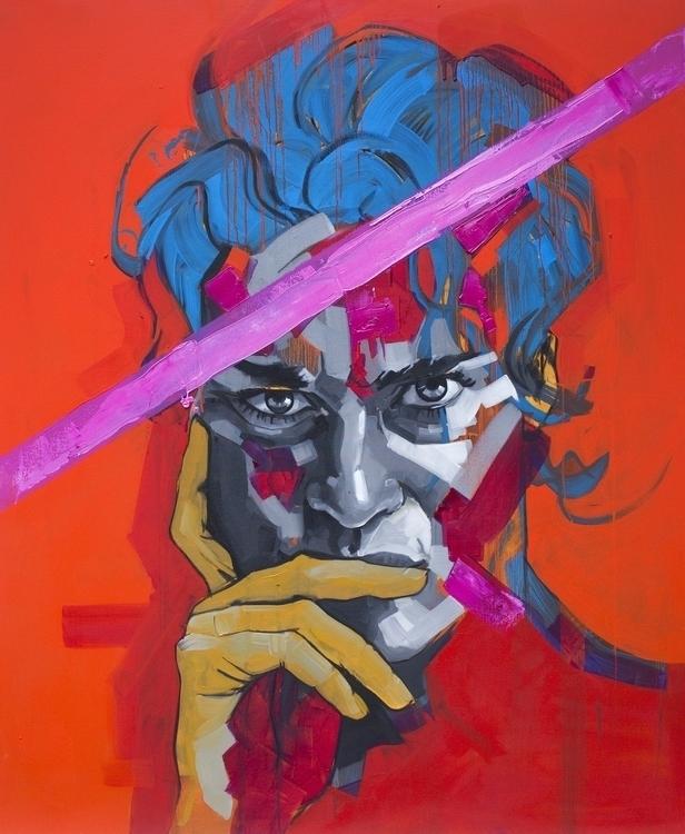 LIza _crimson - painting, portrait - koscos | ello