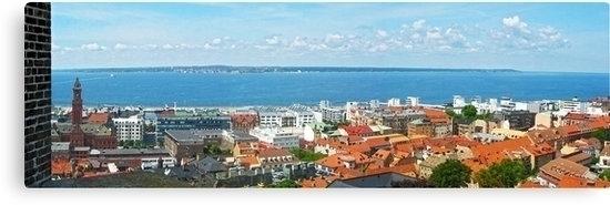 Panoramic view town Helsingborg - leo_brix | ello