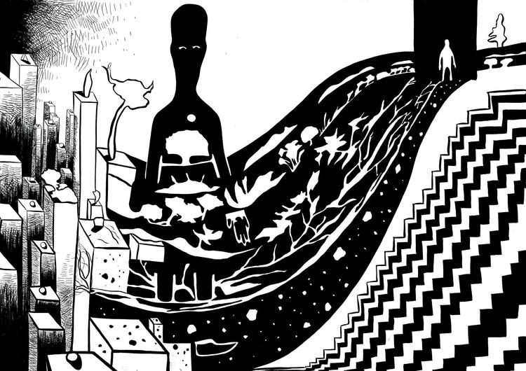 illustration - drawing, editorialillustration - fagfedericaaglietti | ello