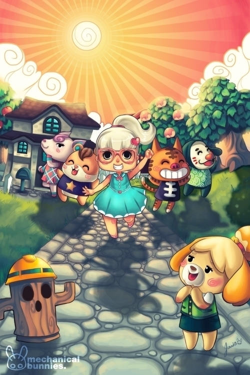 Animal Crossing - animalcrossing - mechbunnies | ello