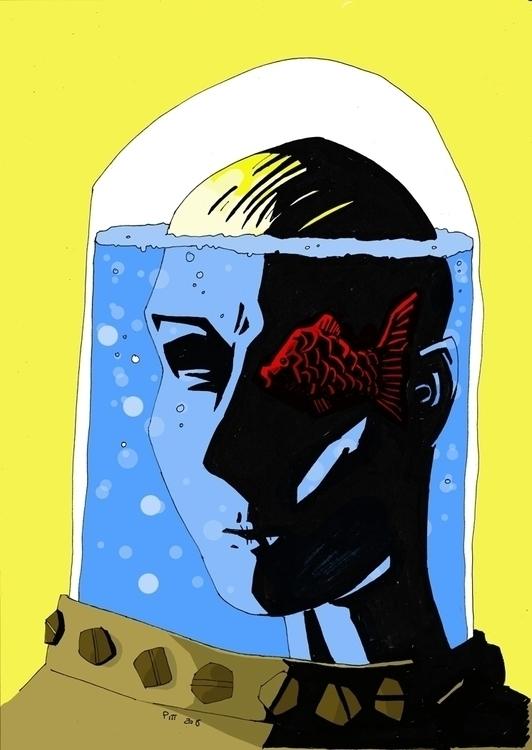 Conscious - illustration - pittrorotelli | ello
