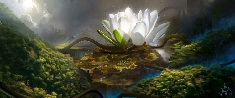 iPad finger painting - conceptart - jaime_sanjuan | ello
