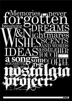 Nostalgia Project - nostalgiaproject - artisan3 | ello