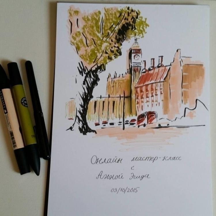 illustration, drawing, environment - artolgash | ello