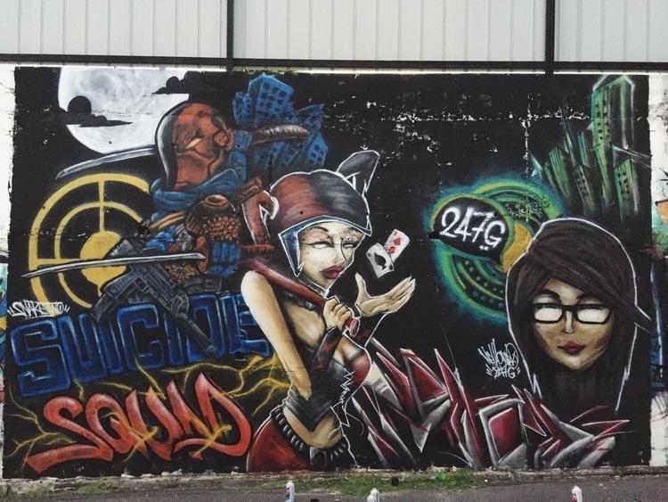 Deathstroke Harley Quinn. Snake - snaketwo | ello