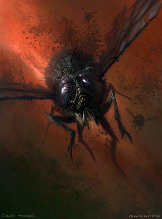 Wasteland 2 - Fruit-Flies - yuanchang | ello