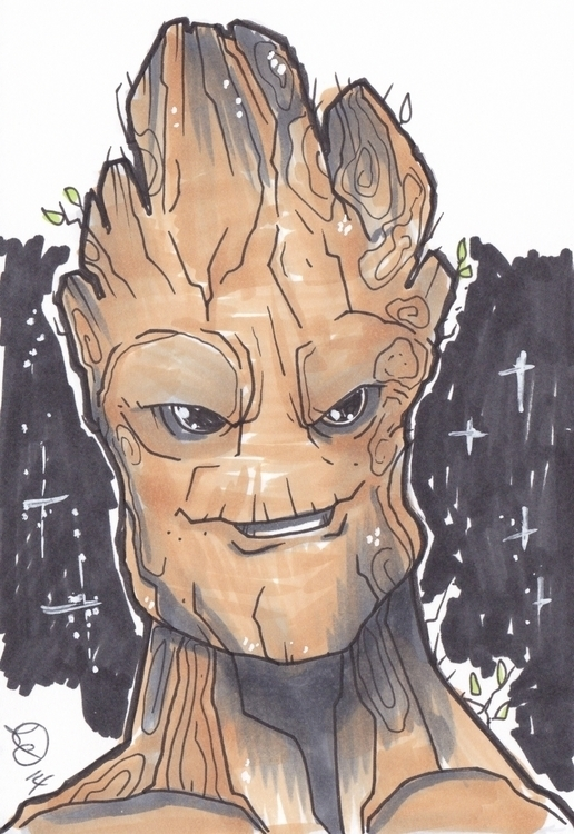Groot - groot, guardiansofthegalaxy - kevinisaac | ello