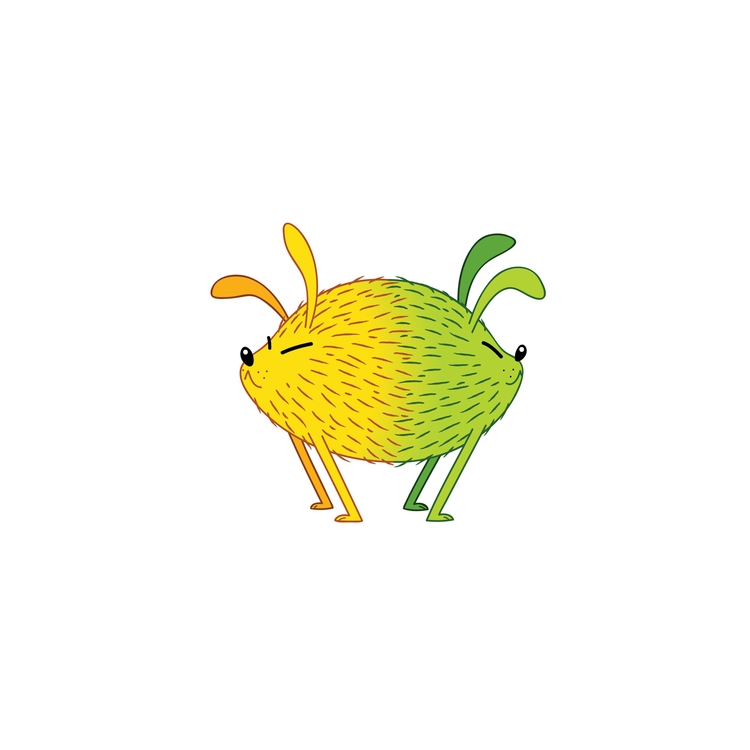 lemon-lime dog - food, illustration - kaseythegolden | ello