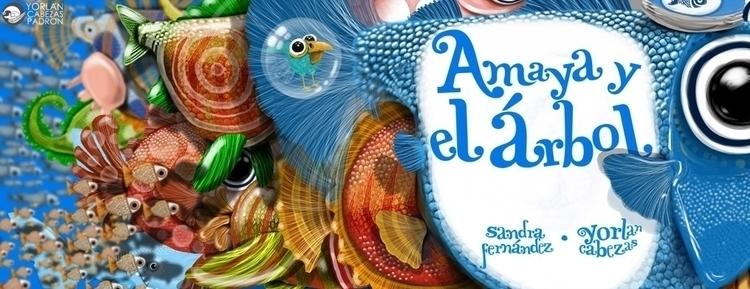 cover - painting, characterdesign - yorlancabezas | ello