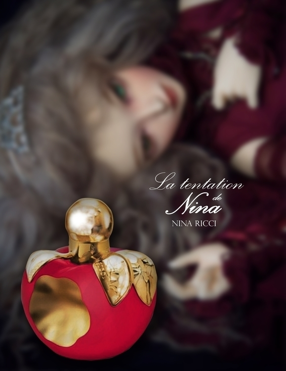 Nina Ricci La Tentation - advertising - fatimaongleo | ello