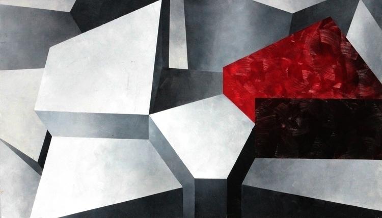 Abstract 03 - painting, abstract - alesa-7823 | ello