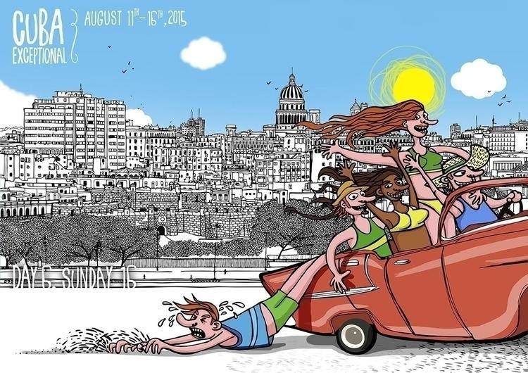 Cuba Exceptional - illustration - yorlancabezas | ello