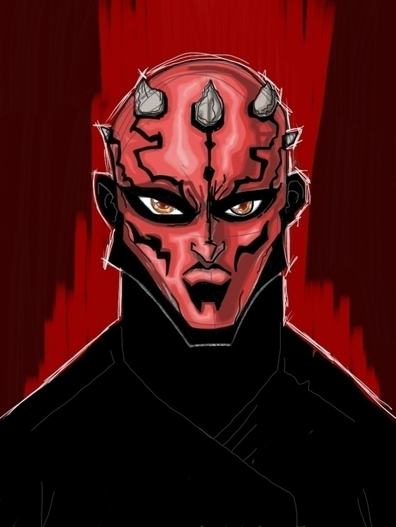 Darth Maul - ipad - darthmaul, starwars - kevinisaac | ello