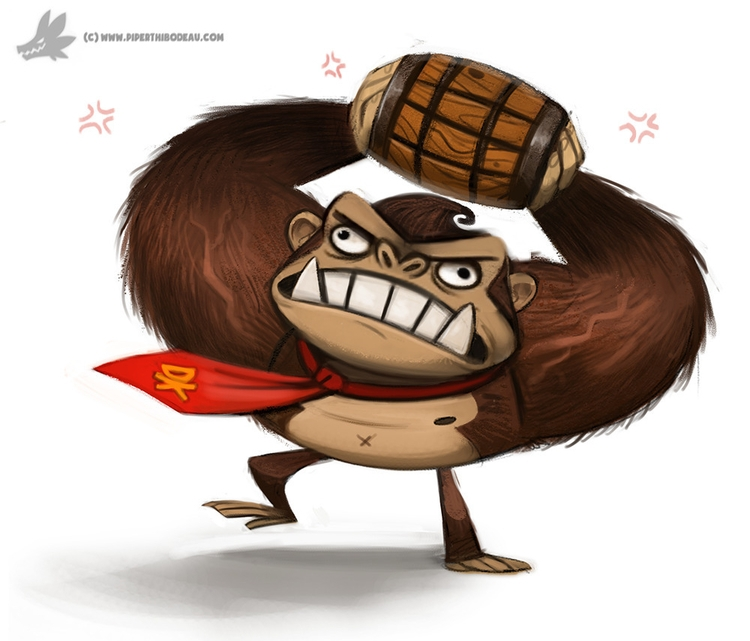 Day 827. Donkey Kong - piperthibodeau   ello