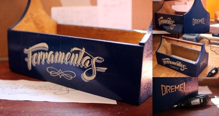 Toolbox DREMEL, carved Dremel t - gibara | ello