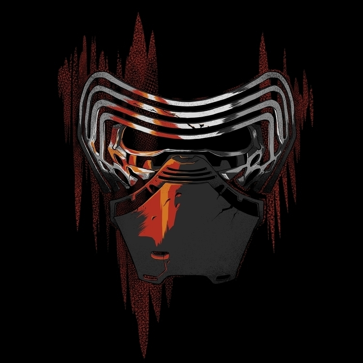 Red Lights - starwars, illustration - alesa-7823 | ello