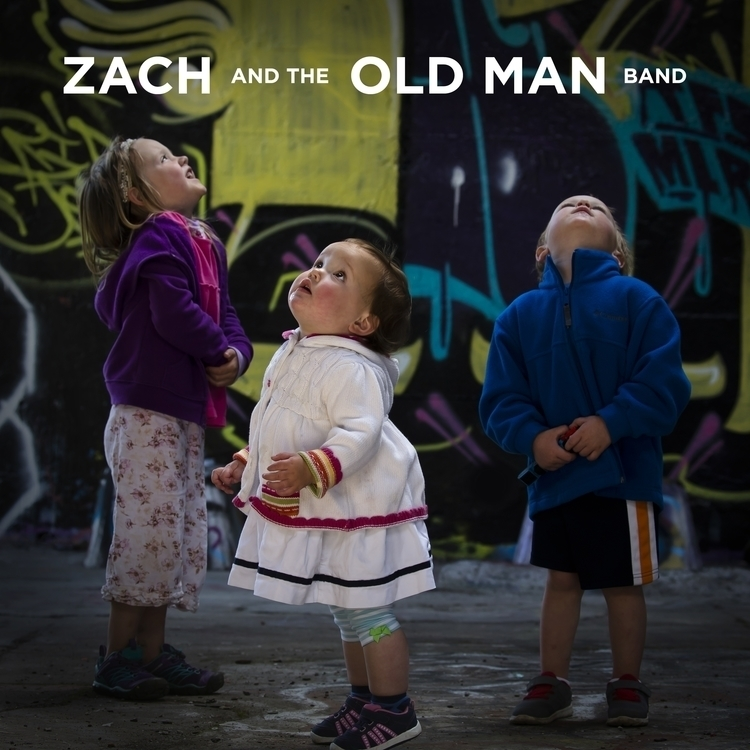 Zach Man Band — CD Cover - photography - rip_design | ello