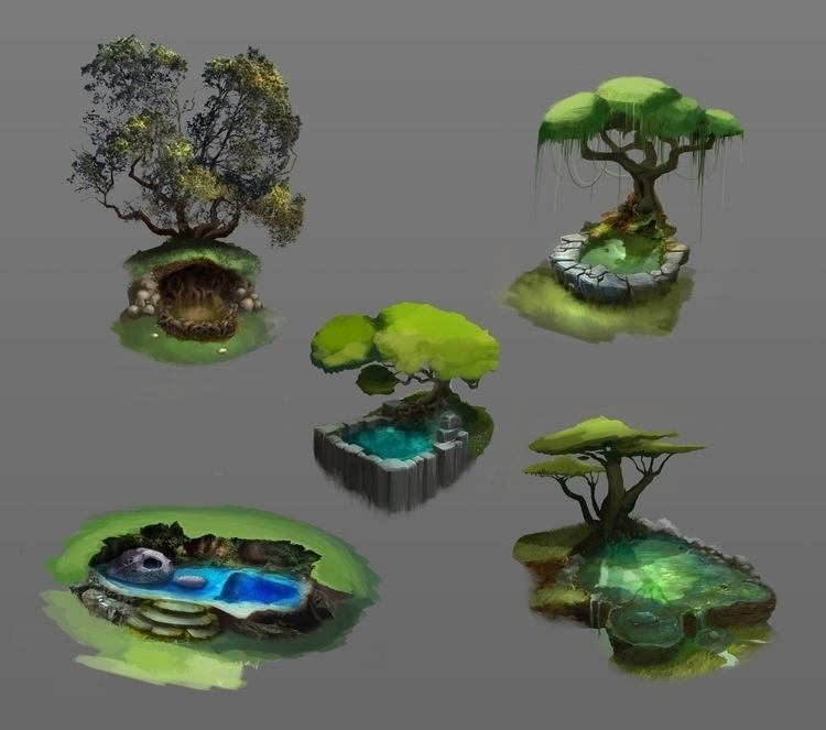 Special pool - conceptart, gameart - drazic | ello