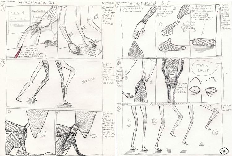 Scene 7-8 Collaboration: Storyb - fagfedericaaglietti | ello