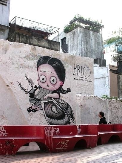 fast piece Macau, China - graffiti - kriospecialk | ello