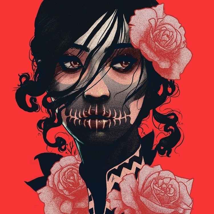 Rosas IV - illustration, digitalart - hdnn | ello