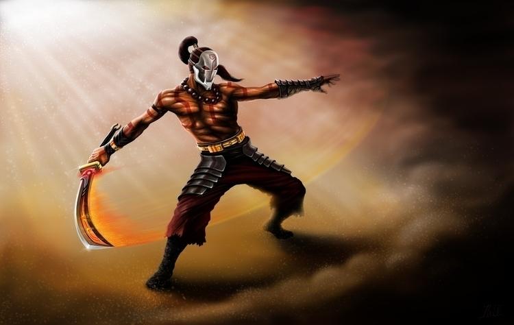 blade master - characterdesign, conceptart - lnpbr_b9 | ello