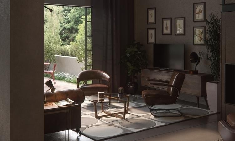 ArchiViz interior loft project - giozaha | ello