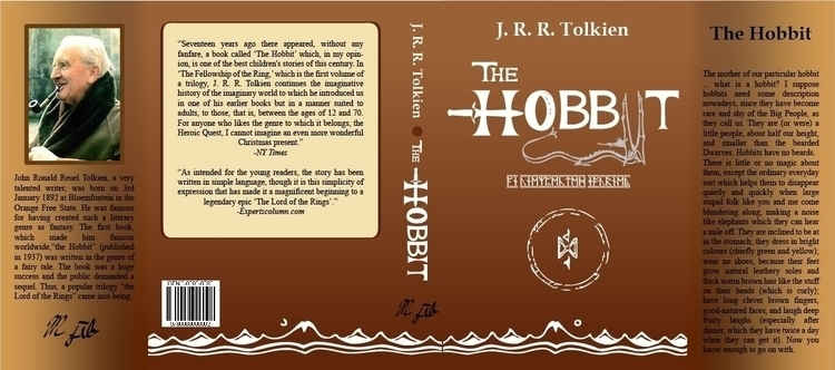 Book Jacket 1: Hobbit - book, bookjacket - mjib | ello