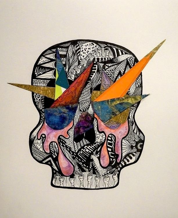 Explosion - design, conceptart, paper - ashleybinns | ello