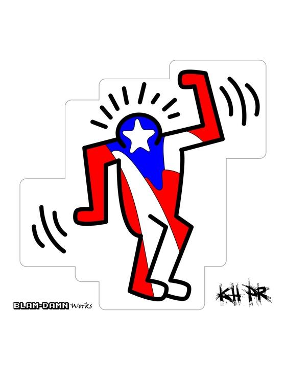 KH PR, Puertorrican homage Keit - mjib   ello