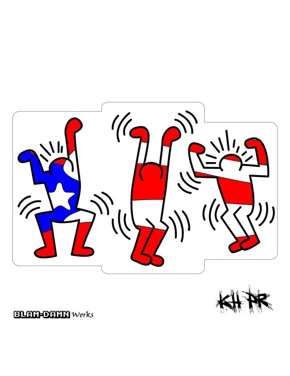 KH PR, Puertorrican homage Keit - mjib | ello