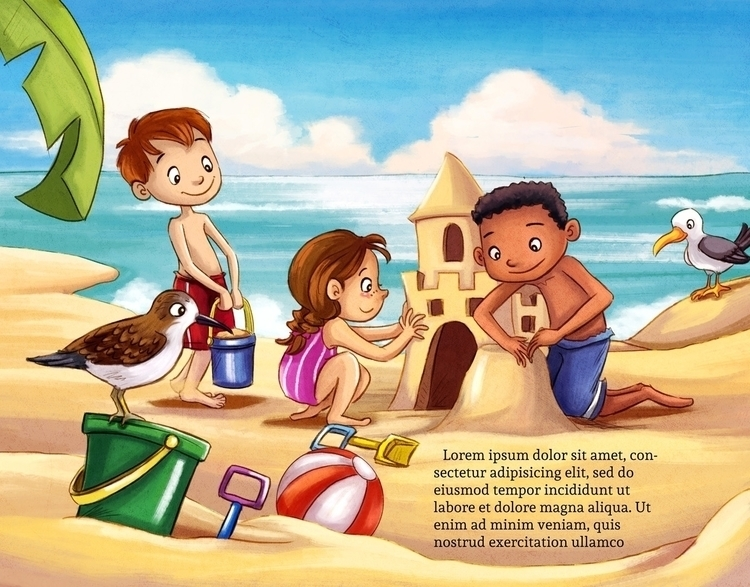 children'sillustration, children'sbook - wenfancy | ello