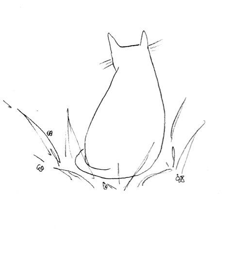 Content Cat - cat, illustration - finlaysonillustration | ello