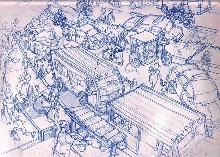 Cebu, Philippines - illustration - khalidrobertson | ello