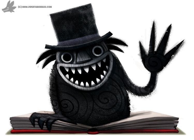Daily Paint Babadook - 1029. - piperthibodeau | ello
