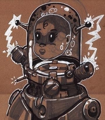 Baby Bottle - illustration, drawing - khalidrobertson | ello