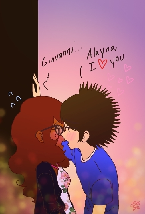 Giovanni Alayna sight transferr - littlestar21 | ello