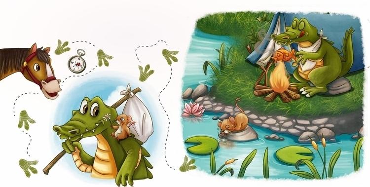 children'sbook, children'sillustration - wenfancy | ello