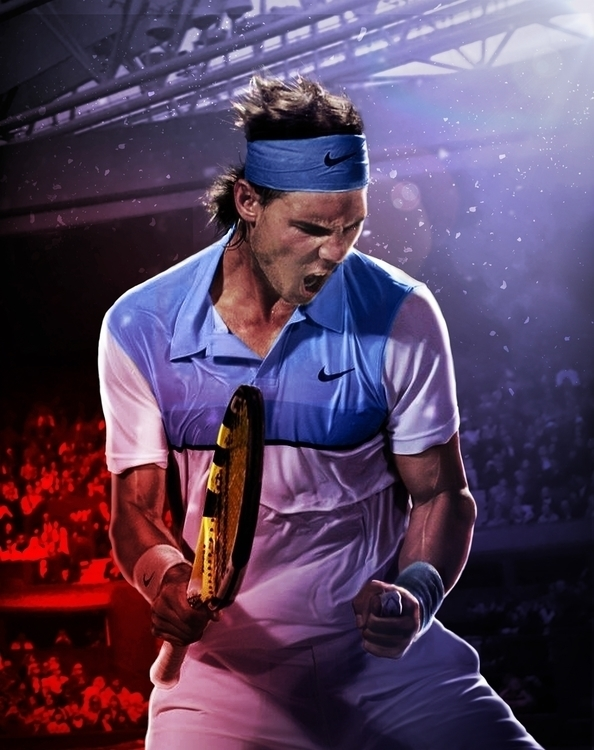 Tribute Rafa Nadal - photomanipulation - zarikahuir | ello